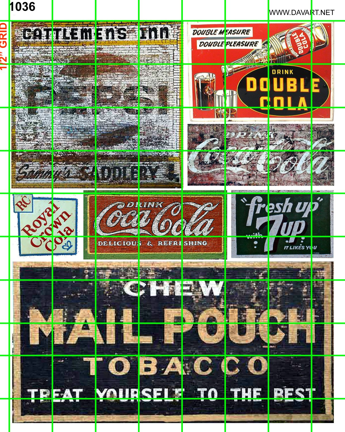Vintage Grocery Signs Products