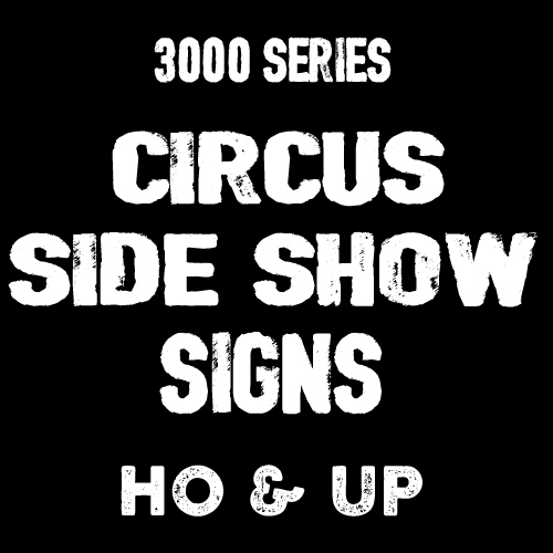 3000 - CIRCUS SIDE SHOW