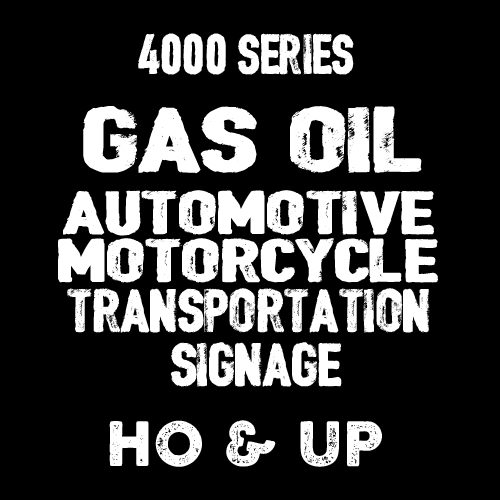 4000 GAS/OIL SIGNS