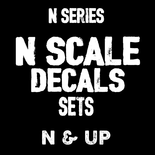 N SCALE DECALS