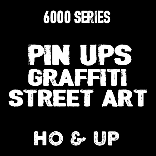 6000 - PINUPS GRAFFITI